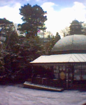 Picture of the Magnesia Well in the Snow, Valley Gardens, Harrogate